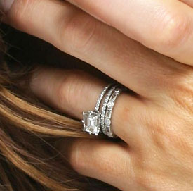 Kate Beckinsale Diamond Engagement Ring
