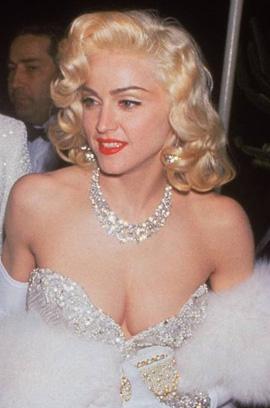 Madonna Harry Winston