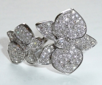 Cartier Orchids Ring