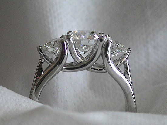 Three Stone Engagement Rings Pricescope