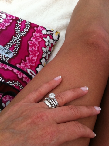 how do you wear your wedding and engagement rings - How Do You Wear Your Wedding Rings