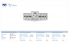 18K White Gold Matching Bridal Rings (2 3/8 cttw.)