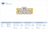 18K Yellow Gold Matching Bridal Rings (2.00 cttw.)
