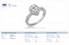 18K White Gold Pear Shape Diamond Ring (1 1/4 cttw.)