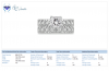 Princess Diamond Ring in 18K White Gold with Matching Bridal Set (2 1/8 cttw.)