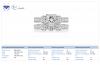 Matching Bridal Diamond Ring Set in 18K White Gold (2 1/2 cttw.)