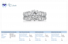 18K White Gold Diamond Matching Bridal Ring Set (2 1/2 cttw.)