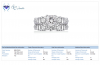 18K White Gold Princess Cut Matching Ring Set (2 1/2 cttw.)