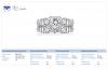 18K White Gold Princess Cut Matching Ring Set (2 1/2 cttw.)