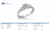 18K White Gold Round Diamond Ring (1.00 cttw)