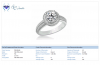 18K White Gold Diamond Ring (3/4 cttw)