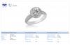 18K White Gold Diamond Ring (3/4 cttw)