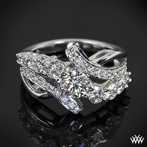 custom graduating engagement ring pricescope