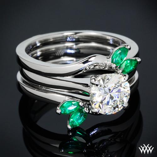 Custom Platinum Ring Guard Pricescope