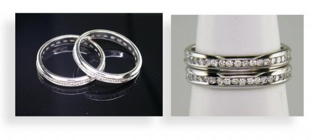 My WF Diamond Toe Rings!