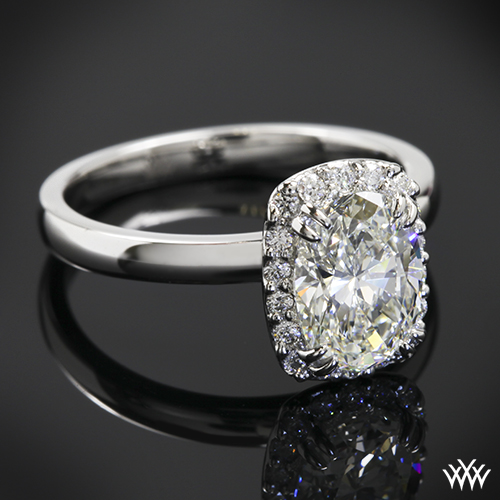 Customized Guinevere Solitaire Engagement Ring