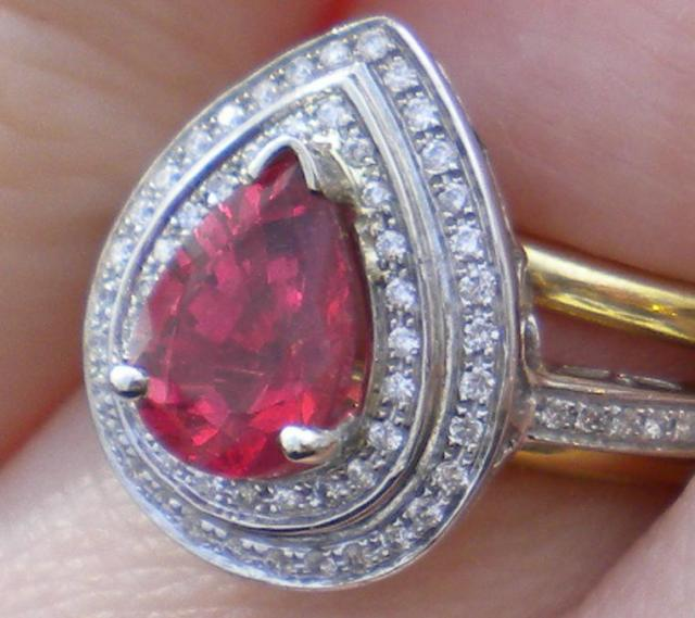 how to clean a cloudy spinel