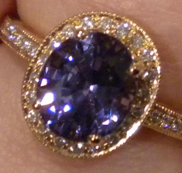 2 8 Ct Tanzanian Periwinkle Spinel Color Shifting In
