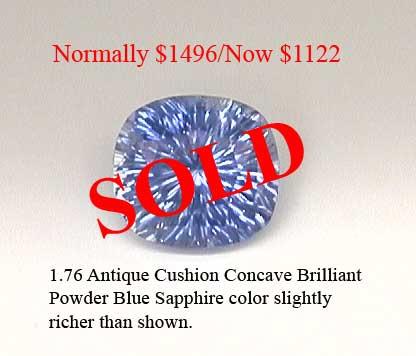 cushion sapphire