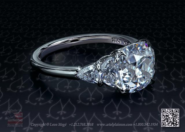 Classic Five Stone Engagement Ring R5781