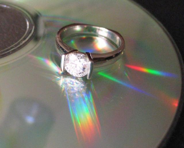 My ring has a different use for a CD!