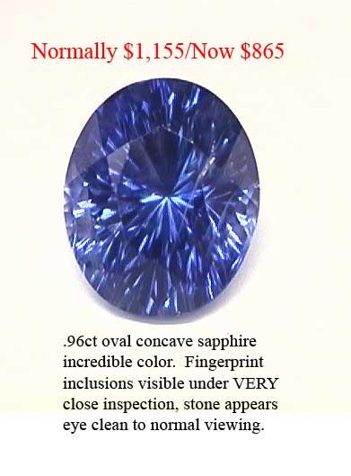 Sapphire .96cts