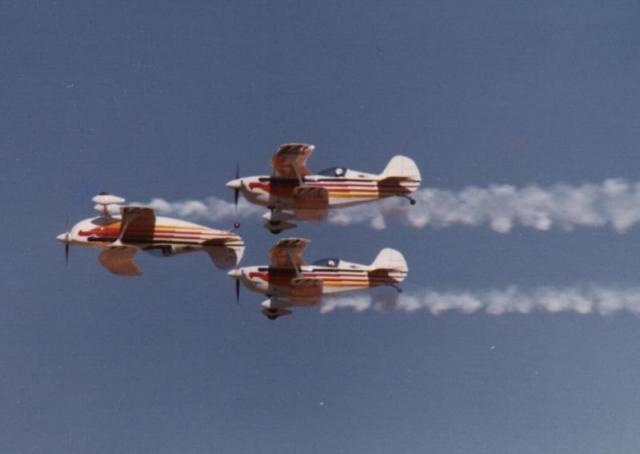 Reno Air Races Acrobatics