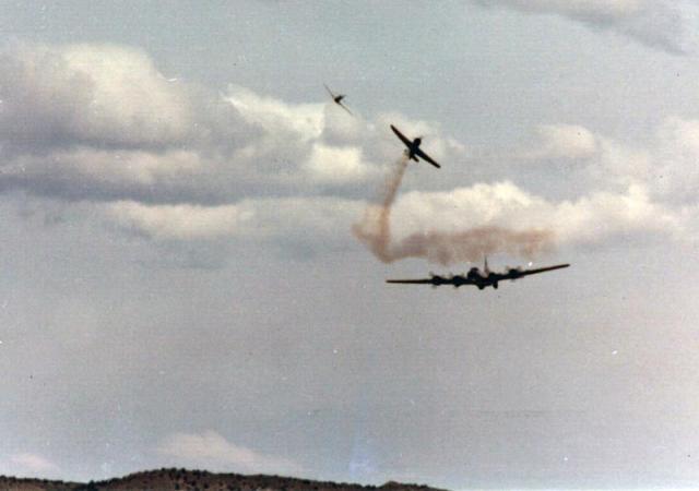 B-19 Under Attack