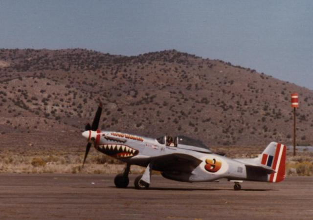 P-51 Mustang at Reno Air Races