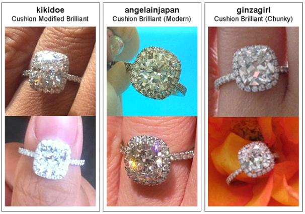 Harry Winston Wedding Band 86 Spectacular Cushion cut engagement rings