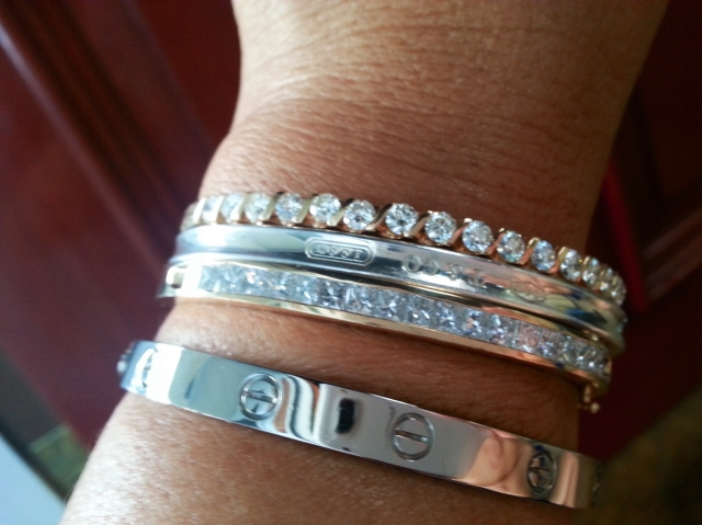 5097f7290 Please show me your diamond stacking bangles/ bracelets | PriceScope Forum