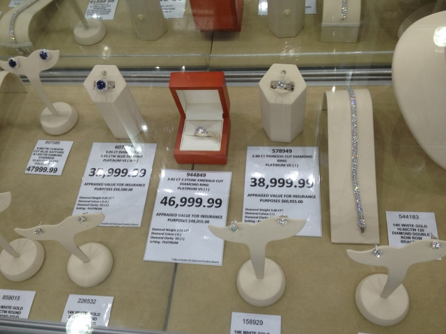 COSTCO is selling everything RockyTalky • Diamond Jewelry Forum pare D
