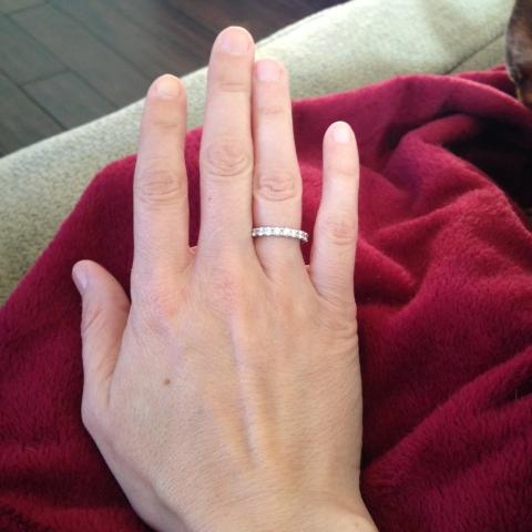 Tara's hand 40 years