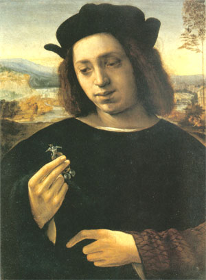Figure 14. Portrait of a Man (The Goldsmith) (1515) by Ridolfo Ghirlandaio (1483-1561)