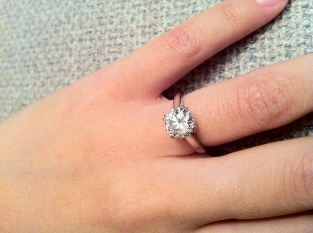 harry winston engagement ring solitaire - Harry Winston Wedding Rings