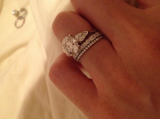 Irish Wedding Engagement Ring Combo