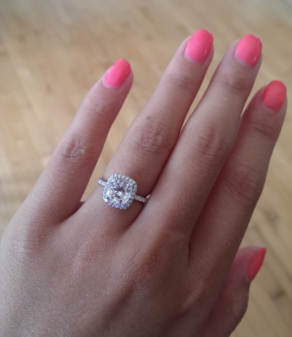 Pink Engagement Rings Get the Look  Engagement Rings