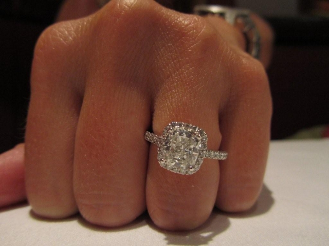 Cushion Cut Diamond How Much Does A 2 Carat Cushion Cut