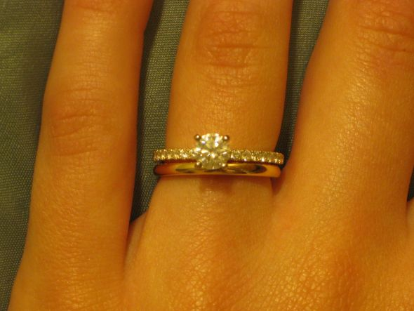 Gold Wedding Rings Show Me Your Engagement Rings