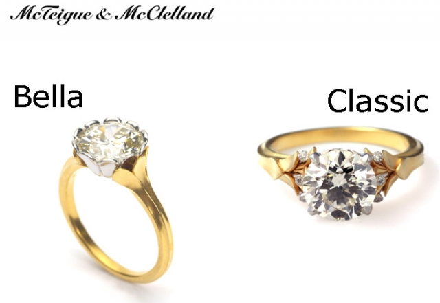 which of these 2 yellow engagement rings should i buy