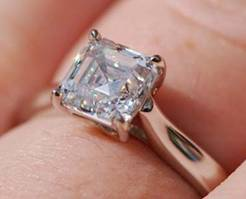 Asscher Cut Diamond by Lablett