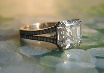 Asscher Cut Diamond by Starryeyed