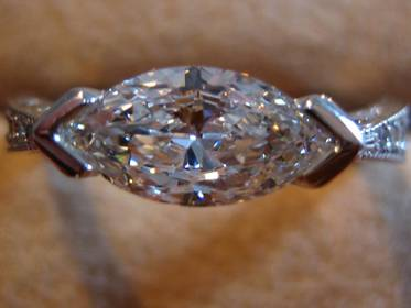 Marquise cut Diamond posted by Machick