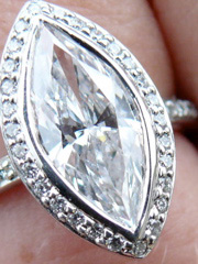 Marquise cut Diamond posted by Reader