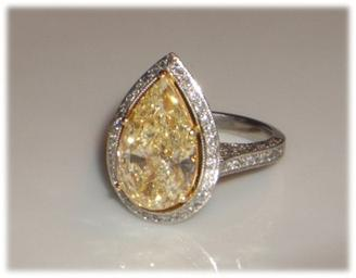 Pear Cut Diamond posted by Amethyste