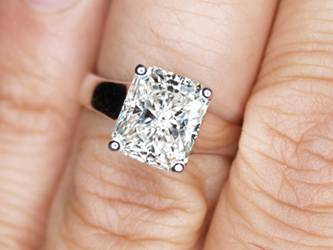 radiant ctw diamond cut f ring engagement