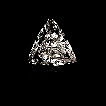 Trillion Cut Diamonds Triangular Cut Diamonds Pricescope