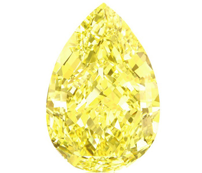 110.03 carat Sun Drop Diamond