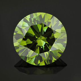 Synthetic Blue Diamonds