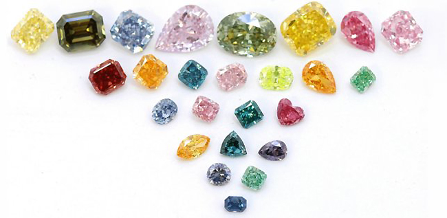 the color education diamonds cut fancy colored clear diamond
